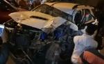 दिल्ली : बेकाबू फॉर्चूनर ने कई गाड़ियों को मारी टक्कर, एक की मौत, 8 घायल