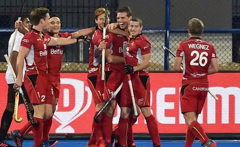 हॉकी विश्वकप : जर्मनी को हराकर सेमीफाइनल में पहुंचा बेल्जियम