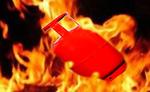 राजस्थान में गैस सिलेण्डर में आग से नौ लोग झुलसे