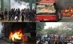 जामिया में नागरिकता संशोधन के विरोध में प्रदर्शन के दौरान हिंसा