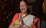 इंदौर : आठ बार से इंदौर में जीत रही हैं सुमित्रा महाजन