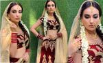 दुल्हन बनीं ये अभिनेत्री  - शेयर की अपनी ये हॉट तस्वीरें