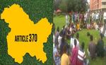 कश्मीर की जनता की इच्छा, राय से सुलझाएं मसला : छात्र