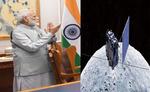 चंद्रयान-2 के चंद्रमा की कक्षा में पहुंचने पर मोदी ने दी बधाई