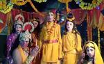 गोंडा में भरत मिलाप का दृश्य देख लोगों के नीर बहे