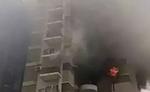 अहमदाबाद में चार मंजिला इमारत में लगी आग, एक घायल