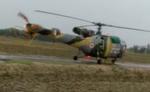 जौनपुर में वायुसेना हेलीकॉप्टर की इमरजेंसी लैंडिंग, गांव में मचा हड़कंप