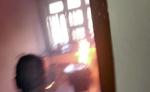 सामाजिक न्याय एवं अधिकारिता मंत्रालय के कमरे में लगी आग
