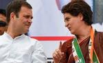 अन्याय के खिलाफ जी-जान से लड़ेगी कांग्रेस : राहुल-प्रियंका