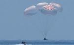 स्पेसएक्स ड्रैगन ने मेक्सिको की खाड़ी में उतर रचा इतिहास, राष्ट्रपति ट्रंप ने की तारिफ