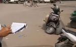 यातायात नियम तोड़ना पड़ा भारी - 1312 लोगों का कटा चालान