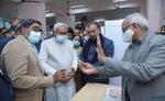 CM नीतीश कुमार ने IGIMS से बिहार में शुरू किया कोरोना टीकाकरण