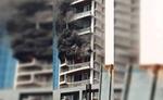 मुंबई 60 मंजिल इमारत में लगी आग, 1 की मौत