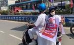 ममता ने ईंधन की कीमतों में तेजी के विरोध में राज्य सचिवालय नबाना तक स्कूटर सवारी निकाली