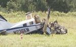 जार्जिया में सिंगल-ईंजन विमान के दुर्घटनाग्रस्त होने से तीन लोगों की मौत