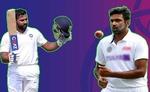 रोहित अपने सर्वश्रेष्ठ आठवें स्थान पर, अश्विन तीसरे नंबर पर