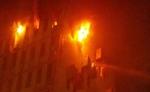 कोलकाता में पूर्वी रेलवे कार्यालय में लगी आग, नौ लोगों की मौत