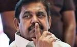 पलानीस्वामी अन्नाद्रमुक विधायक दल के नेता चुने गए, विस में विपक्ष के नेता होंगे