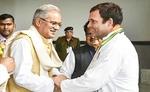 CM भूपेश बघेल की दिल्ली दौड़, राहुल गांधी से होगी मुलाकात